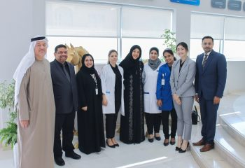 A Group Picture with HE Reem Al Hashimi at DAC