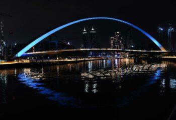 Tolerance Bridge in Blue